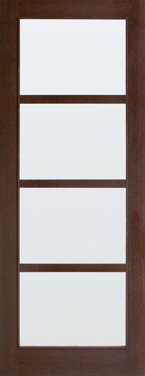 Verrassend Naturel wenge mat glas 231.5 x 93 opdek links | DeurenSale XG-93