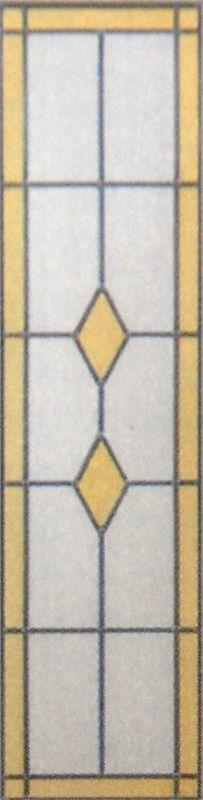 glas in lood diamant dub lut 2015 x 93