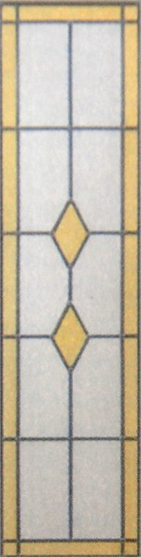 glas in lood diamant dub lut 2115 x 83